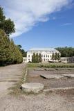 未使用的古老宫殿 免版税库存图片