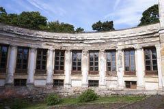 未使用的古老宫殿 库存图片