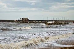 未决定的海|莱姆里杰斯 免版税图库摄影