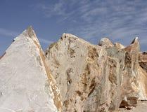 未加工的大理石块 免版税图库摄影
