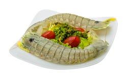 未加工的大螯虾 免版税图库摄影