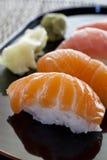 未加工的寿司 免版税库存图片