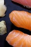 未加工的寿司 库存图片