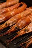 未加工的新鲜的单件龙虾行为烤一套做准备晚餐口音的海鲜纤巧在头 库存图片