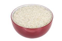 未加工的未煮过的巴丝马香米白色简单的米 免版税库存照片