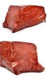 未加工的牛肉肝脏 免版税图库摄影