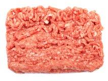 未加工的猪肉绞细牛肉 免版税库存图片