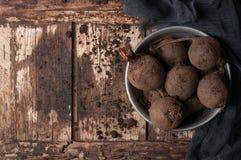 未加工的甜菜 库存照片