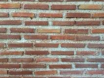 未加工的砖墙 免版税图库摄影