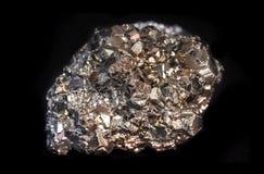 未加工的硫铁矿(被隔绝) 库存照片