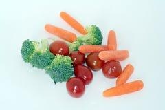 未加工的蔬菜 库存图片