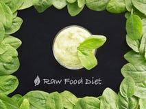 未加工的食物的饮食 免版税库存图片