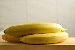 未加工的香蕉 库存图片