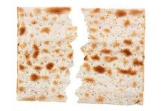 未发酵的面包传统犹太面包 库存图片