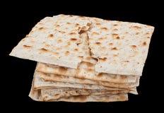 未发酵的面包犹太面包 图库摄影