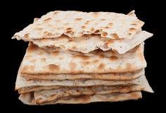 未发酵的面包犹太面包 免版税库存图片
