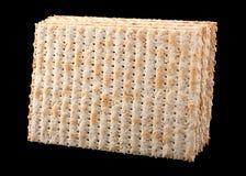 未发酵的面包犹太面包 库存图片