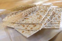 未发酵的面包 免版税库存照片