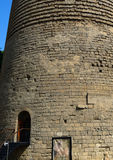 未婚的塔,巴库,阿塞拜疆 免版税库存照片