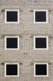 未完成的公寓摘要 免版税库存照片