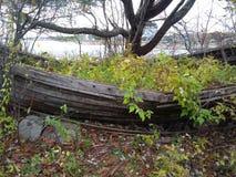 未完成的小船3 免版税图库摄影