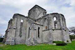 未完成的教会在圣乔治,百慕大 免版税库存图片