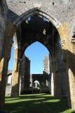 未完成的教会,百慕大 免版税库存照片