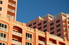 未完成的旅馆 免版税库存照片