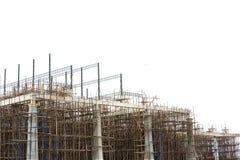 未完成的楼房建筑站点 库存照片