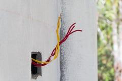 未完成的电cale 免版税库存图片