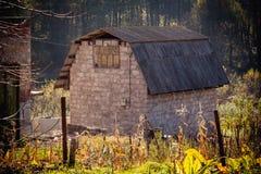 未完成的老房子 免版税库存图片