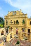 未完成被放弃的城堡 图库摄影