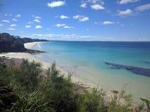 未开发的地区海滩 库存图片