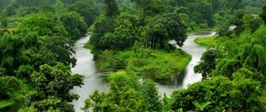 未探测的天堂:东北镇印度 免版税库存照片