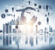 未来、媒介和创新概念 免版税库存照片