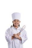 未来厨师 库存图片