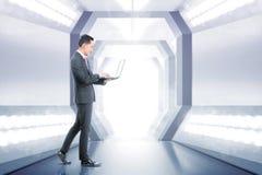 未来技术概念 免版税库存照片