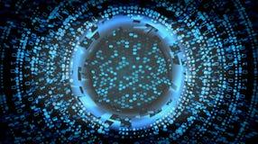 未来技术网络概念背景 抽象安全网际空间 电子数据连接 全局系统 皇族释放例证