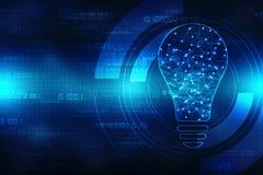 未来技术,创新背景,创造性的想法概念 图库摄影