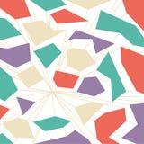 未来抽象与线的流行音乐五颜六色的背景 免版税库存照片