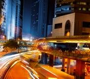 未来派城市的图象 库存图片