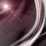 未来派技术波浪背景设计 免版税库存图片