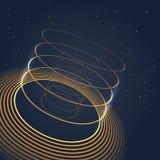 未来派抽象形状例证 向量例证