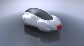 未来派汽车的概念 免版税库存照片