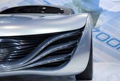 未来派汽车的概念 库存照片