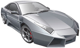 未来派汽车 向量例证