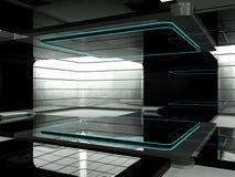 未来派空间 库存例证