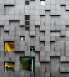未来派门面在奥斯陆,挪威 免版税图库摄影
