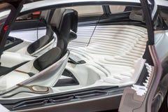 未来的汽车座位? 图库摄影