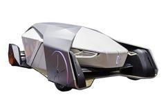 未来的自治汽车 库存照片